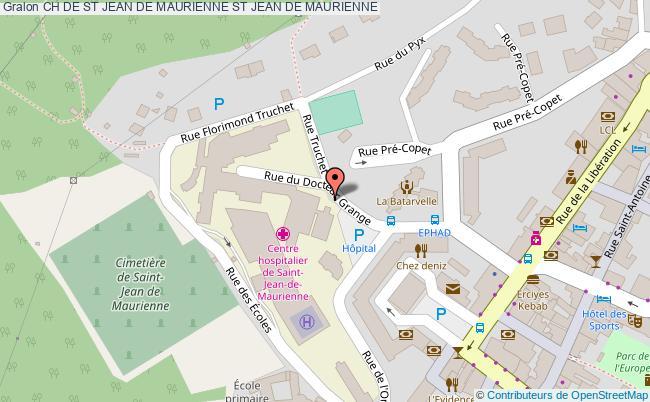 plan Ch De St Jean De Maurienne ST JEAN DE MAURIENNE