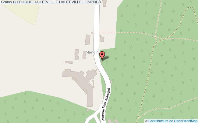 plan Ch Public Hautevillle HAUTEVILLE LOMPNES