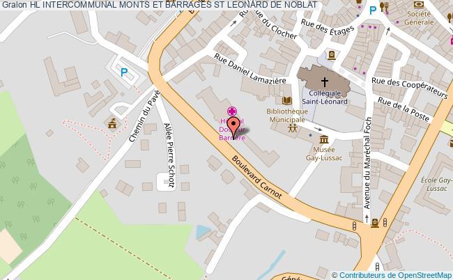 plan Hl Intercommunal Monts Et Barrages ST LEONARD DE NOBLAT