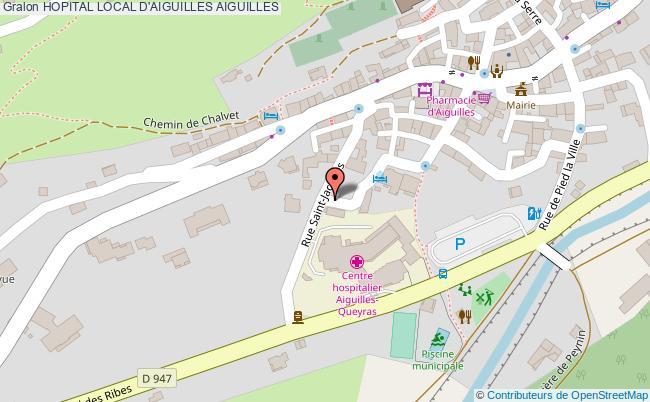 plan Hopital Local D'aiguilles AIGUILLES