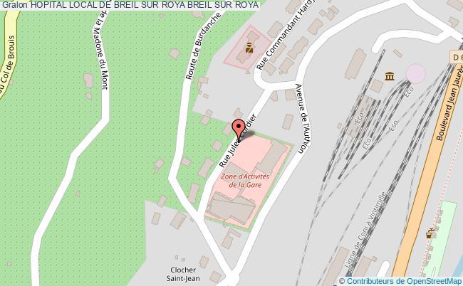plan Hopital Local De Breil Sur Roya BREIL SUR ROYA