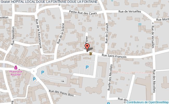 plan Hopital Local Doue La Fontaine DOUE LA FONTAINE