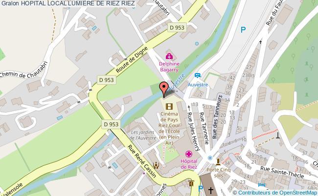 plan Hopital Local Lumiere De Riez RIEZ