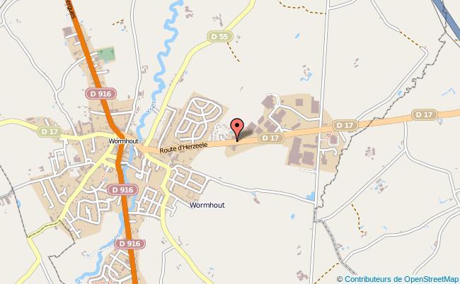 plan Brigade De Proximité De Gendarmerie De Wormhout WORMHOUT