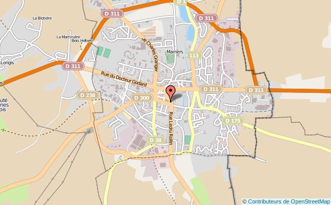 plan Caisse D'allocations Familiales Caf De Mamers Antenne MAMERS
