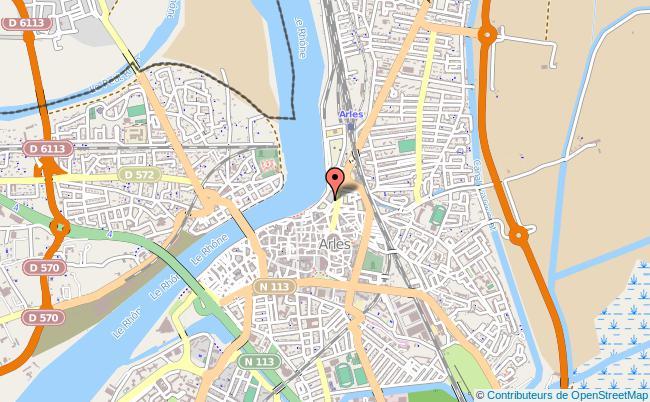plan Centre D'information Et D'orientation Cio D'arles Arles