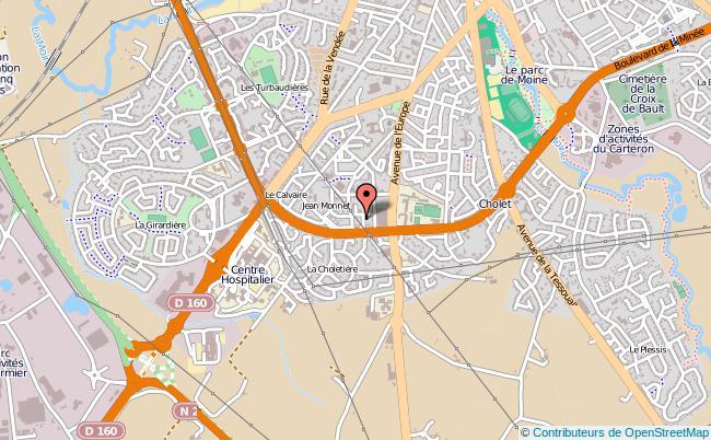 plan Centre D'information Et D'orientation Cio De Cholet CHOLET