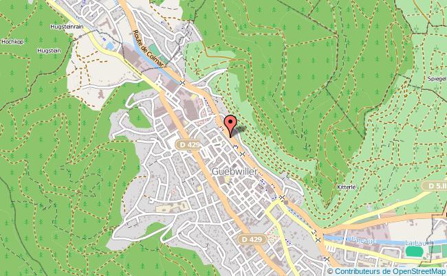 plan Centre D'information Et D'orientation Cio De Guebwiller GUEBWILLER
