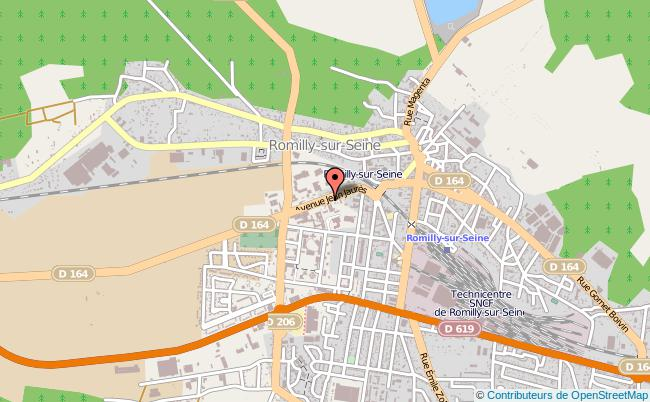 plan Centre D'information Et D'orientation Cio De Romilly-sur-seine ROMILLY SUR SEINE