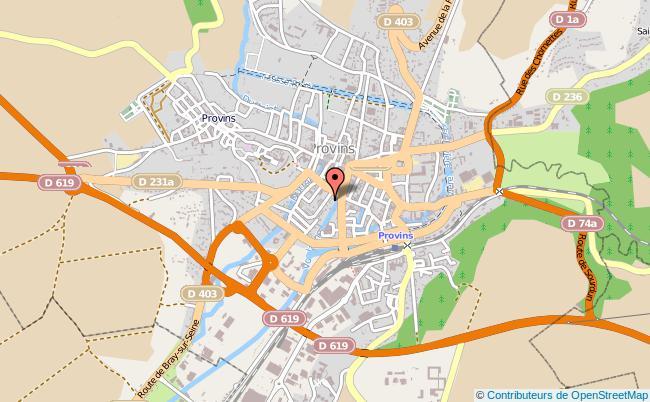 plan Centre D'information Et D'orientation Scolaire De Provins PROVINS