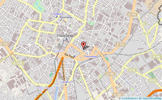 plan Centre D'information Sur Les Droits Des Femmes Du Nord Tourcoing TOURCOING