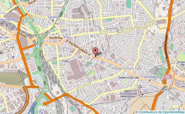 plan Centre Départemental De Documentation Pédagogique Lille Cedex