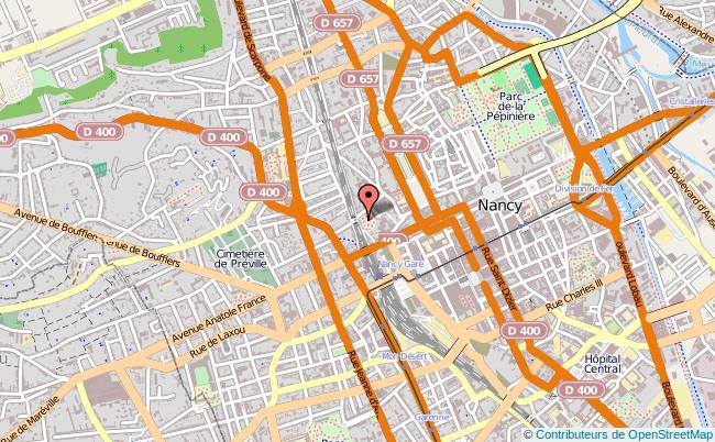 plan Centre Régional Information Jeunesse De Lorraine NANCY