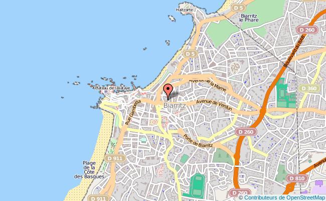 plan Commissariat De Police De Biarritz BIARRITZ