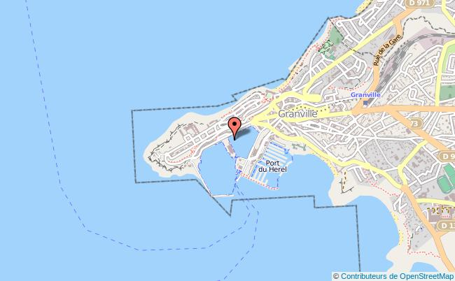 plan Délégation à La Mer Et Au Littoral Dml GRANVILLE