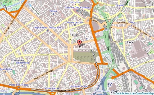 plan Délégation Régionale De L'onisep Lille Cedex