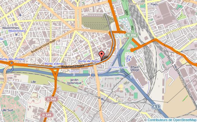 plan Délégation Territoriale De L'agence Régionale De Santé Lille Cedex