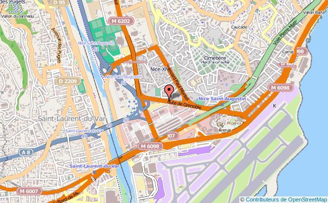 plan Délégation Territoriale De L'agence Régionale De Santé Nice Cedex 03