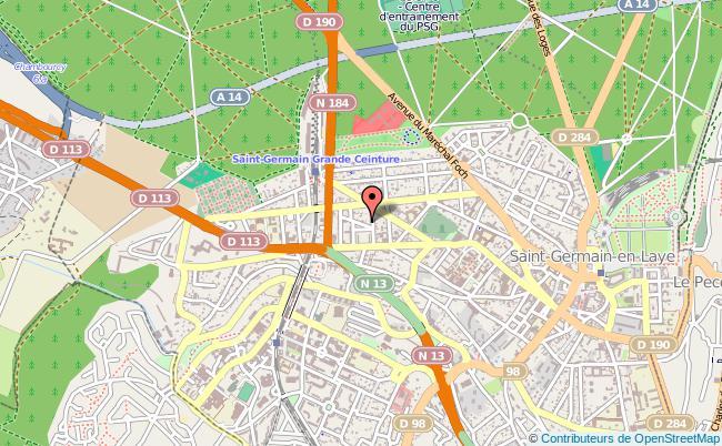 plan Direction Régionale Des Douanes De Paris-ouest SAINT GERMAIN EN LAYE CEDEX