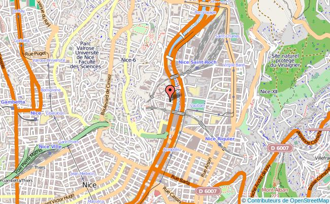 plan Maison D'arrêt De Nice NICE CEDEX 1
