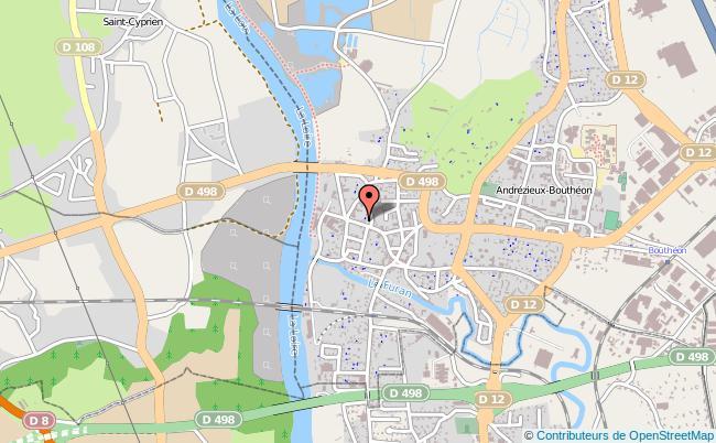 plan Mission Locale D'andrézieux-bouthéon ANDREZIEUX BOUTHEON