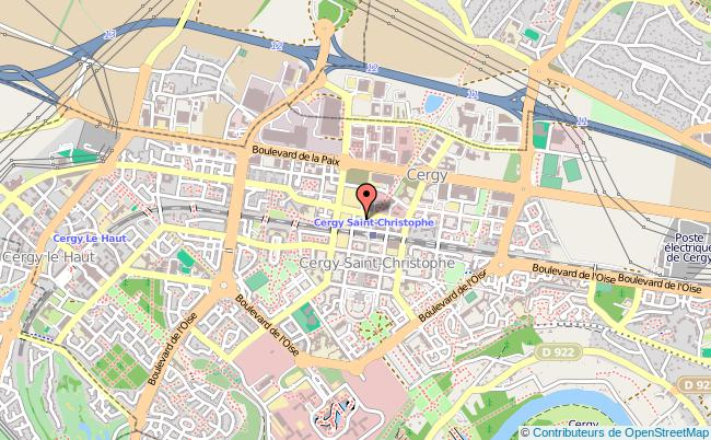 plan Mission Locale De Cergy CERGY PONTOISE CEDEX