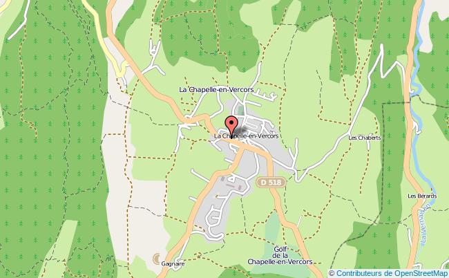 plan Mission Locale De La Chapelle-en-vercors LA CHAPELLE EN VERCORS