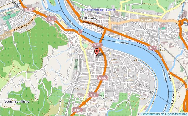 plan Mission Locale De Tournon TOURNON SUR RHONE