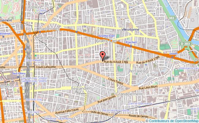 plan Mission Locale De Villeurbanne, Antenne De Charpennes-tonkin VILLEURBANNE