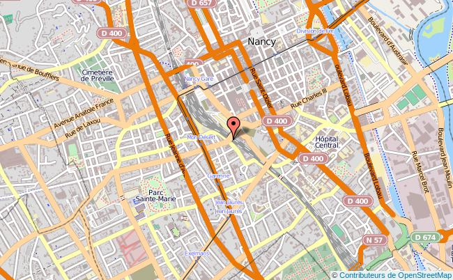 plan Mission Locale Du Grand-nancy NANCY CEDEX