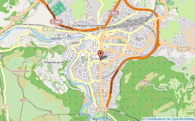 plan Mission Locale Haute-pyrenées-antenne De Lourdes LOURDES