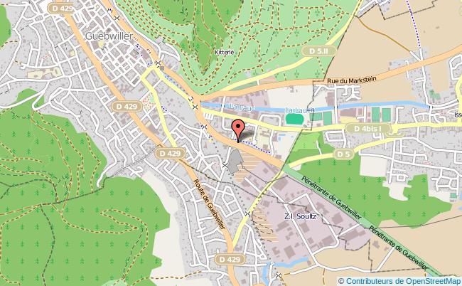 plan Point Information Jeunesse De Guebwiller GUEBWILLER