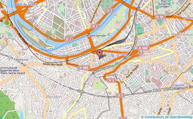 plan Point Information Jeunesse De Issy Les Moulineaux ISSY LES MOULINEAUX