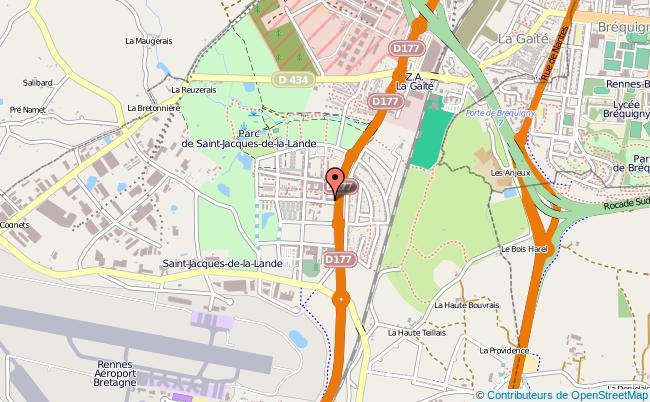 plan Point Information Jeunesse De Saint Jacques De La Lande ST JACQUES DE LA LANDE