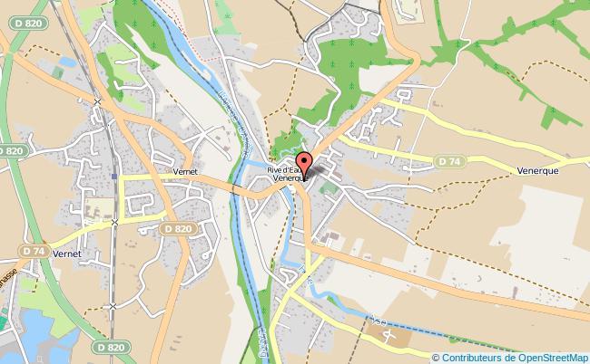 plan Point Information Jeunesse De Venerque-le-vernet VENERQUE