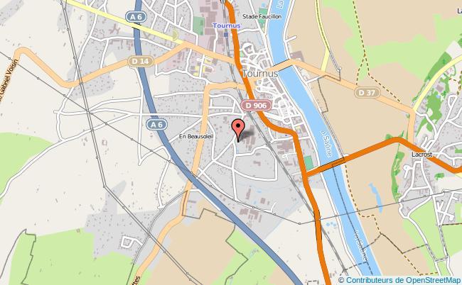 plan Point Information Jeunesse Tournus TOURNUS