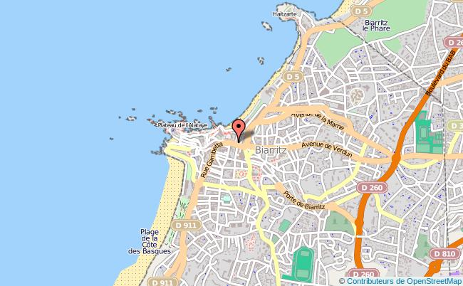 plan Pôle Emploi De Biarritz BIARRITZ CEDEX