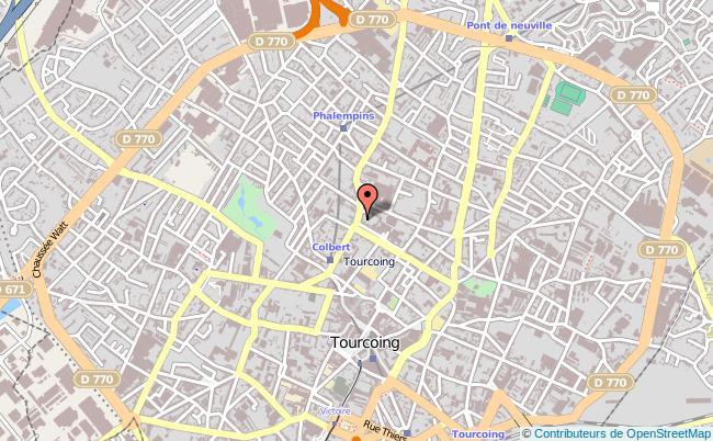 plan Tribunal D'instance De Tourcoing TOURCOING