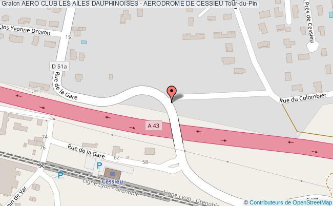 plan Aero Club Les Ailes Dauphinoises