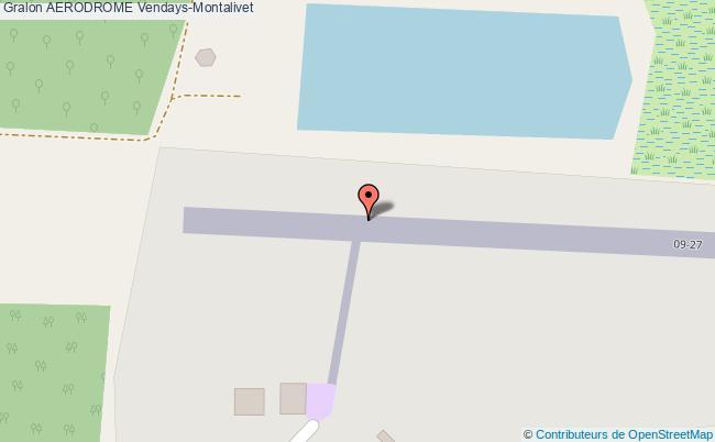 plan Aerodrome De Montalivet