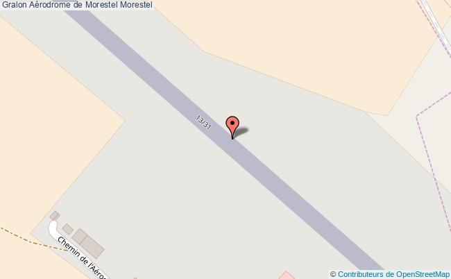 plan Aérodrome De Morestel