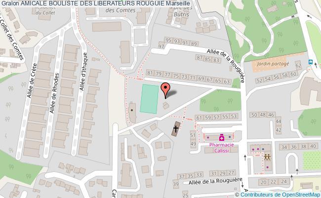 plan Amicale Bouliste De La Rouguiere