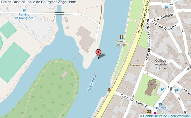 plan Base Nautique De Bourgines