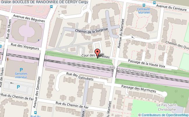 plan Boucle De Randonnée Ville Nouvelle Et Loisirs Champêtres (b02 Pr11)