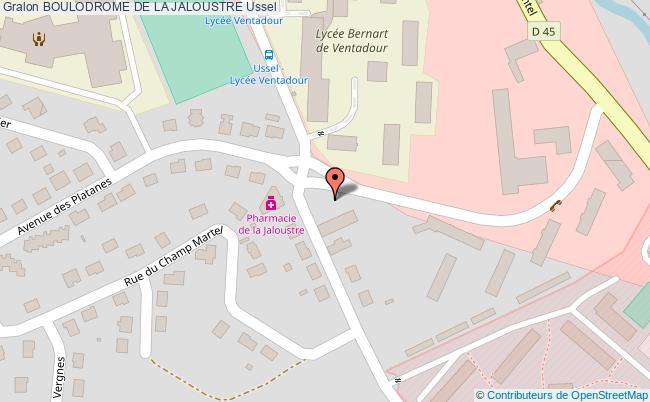 plan Boulodrome Exterieur