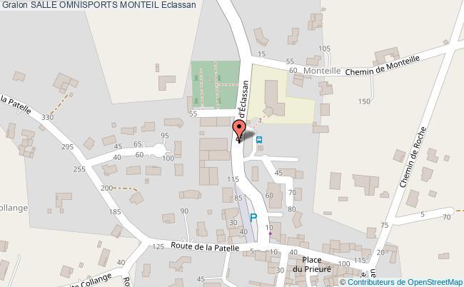 plan Boulodrome Monteil Couvert