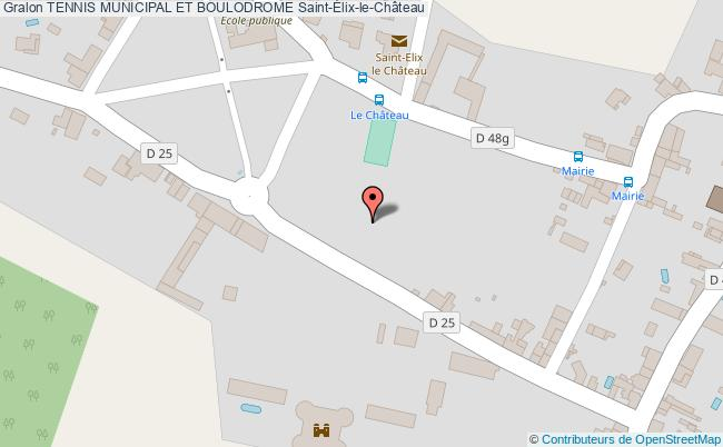 plan Boulodrome