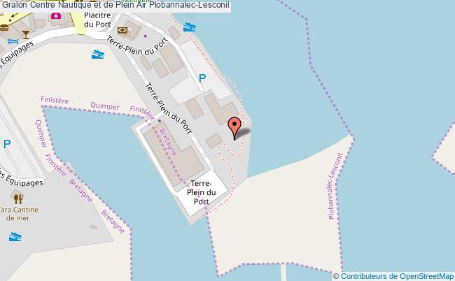 plan Centre Nautique