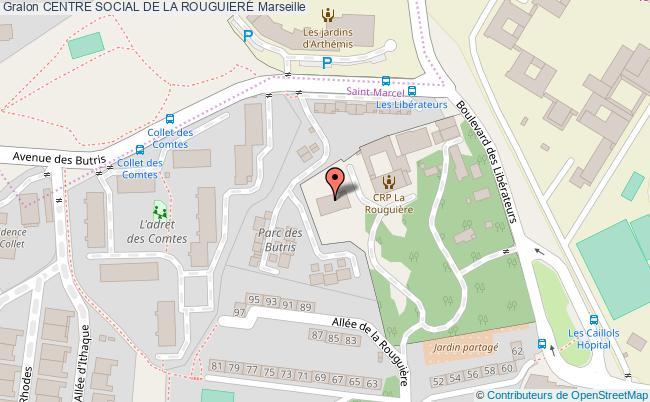 plan Centre Social De La Rouguiere
