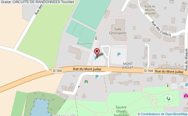 plan Circuit De La Chauminette